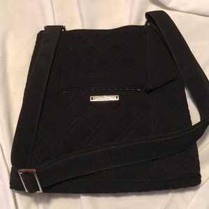 Vera Bradley Cute crossbody All Black Bag